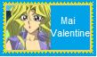 Mai Valentine Stamp by KittyJewelpet78