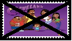 Anti The Cleveland Show Stamp by SoraJayhawk77