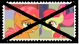 Anti AppleSeed Stamp by KittyJewelpet78