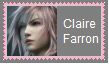 Claire Farron Stamp by SoraRoyals77