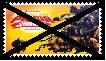 Anti Kung Fu Panda: Legends of Awesomeness Stamp by KittyJewelpet78