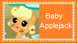Baby AppleJack Stamp by SoraRoyals77