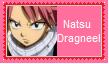 Natsu Dragneel Stamp by SoraRoyals77