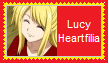 Lucy Heartfilia Stamp by KittyJewelpet78