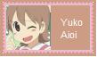 Yuko Aioi Stamp by SoraRoyals77