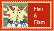 Flim and Flam Stamp by SoraJayhawk77
