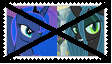 Anti LunaXQueen Chrysalis Stamp by SoraRoyals77
