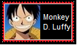Monkey D. Luffy Stamp by SoraRoyals77