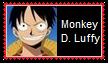 Monkey D. Luffy Stamp by SoraRoyals77