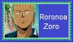 Roronoa Zoro Stamp by SoraJayhawk77