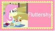 Fluttershy Human Stamp by SoraRoyals77