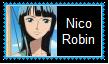 Nico Robin Stamp by SoraRoyals77