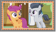 (Request) Scootaloo X Rumble Stamp by KittyJewelpet78