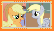 AppleJackXDerpy Stamp by SoraJayhawk77
