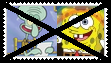 (Request) Anti SpongebobXSquidward Stamp by SoraRoyals77