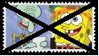 (Request) Anti SpongebobXSquidward Stamp by KittyJewelpet78