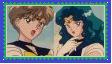 Sailor UranusXSailor Neptune Stamp by SoraJayhawk77