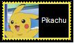 Pikachu Stamp by SoraJayhawk77