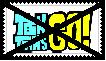 Anti Teen Titans Go Stamp by KittyJewelpet78