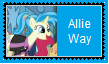 Allie Way Stamp by SoraJayhawk77