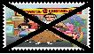 Anti Bob's Burgers Stamp by SoraJayhawk77
