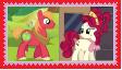 Big MacintoshXCherry Jubilee Stamp by SoraJayhawk77