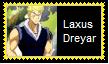 Laxus Dreyar Stamp by SoraRoyals77