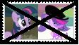 (Request) Anti Twilight Sparkle X Zoe Trent Stamp by SoraRoyals77