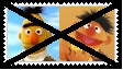 (Request) Anti BertXErnie Stamp by SoraRoyals77