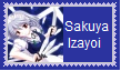 (Request) Sakuya Izayoi Stamp by KittyJewelpet78