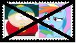 (Request) Anti CartmanXRainbow Dash Stamp by KittyJewelpet78