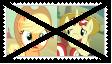 (Request) AppleJackXFlim Stamp by KittyJewelpet78