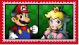 MarioXPeach Stamp by KittyJewelpet78