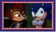 (Request) SonicXSally Stamp by SoraJayhawk77