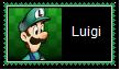 Luigi Stamp by SoraRoyals77