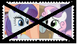 Anti RarityXSweetie Belle Stamp by SoraJayhawk77