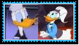 DonaldXDaisy Duck Stamp by SoraRoyals77