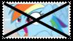 (Request) Anti Rainbow Dash Stamp by KittyJewelpet78
