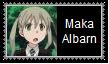 Maka Albarn  Stamp by SoraJayhawk77