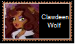 Clawdeen Wolf Stamp by KittyJewelpet78