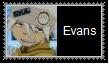 Soul Eater Evans Stamp by SoraRoyals77