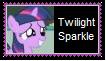 Twilight Sparkle Filly Stamp by KittyJewelpet78
