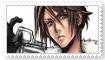 Squall Leonhart Stamp by KittyJewelpet78