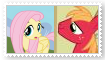 (Request) Fluttermac Stamp by SoraRoyals77
