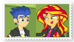 (Request) Flash SentryXSunset Shimmer Stamp by SoraRoyals77