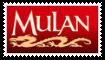 Mulan Stamp by SoraJayhawk77