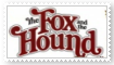 The Fox and the Hound Stamp by KittyJewelpet78
