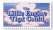 The Little Engine That Could Stamp by KittyJewelpet78