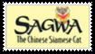 Sagwa The Chinese Siamese Cat Stamp by SoraRoyals77