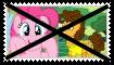 Anti Pinkie PieXCheese Sandwich Stamp by SoraJayhawk77